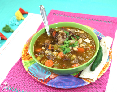 Oxtail Bean Stew by Crafty Chica