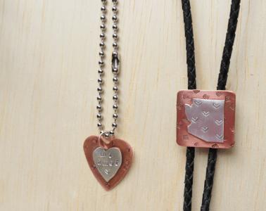 DIY Copper & Silver Jewelry by CraftyChica.