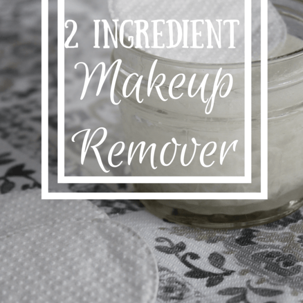 2 Ingredient Natural Makeup Remover