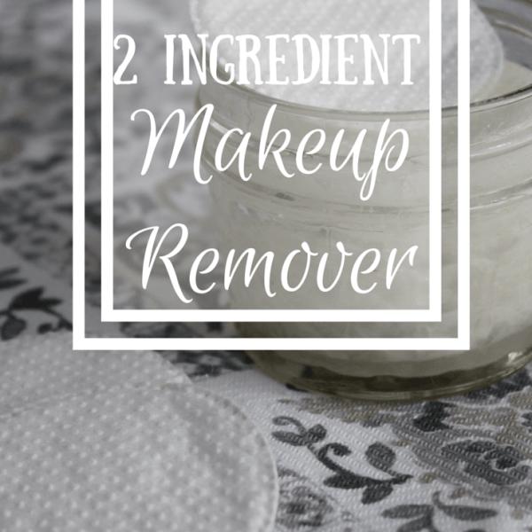 2 Ingredient Natural Makeup Remover