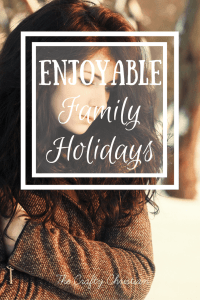 Reducing Stress:  Enjoyable Family Holidays