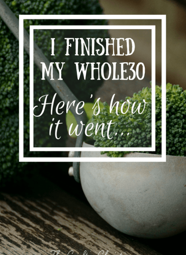 I Just Finished a Whole30, Here's How it Went
