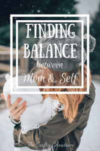 How to Find the Balance Between Being Mom and Being Yourself