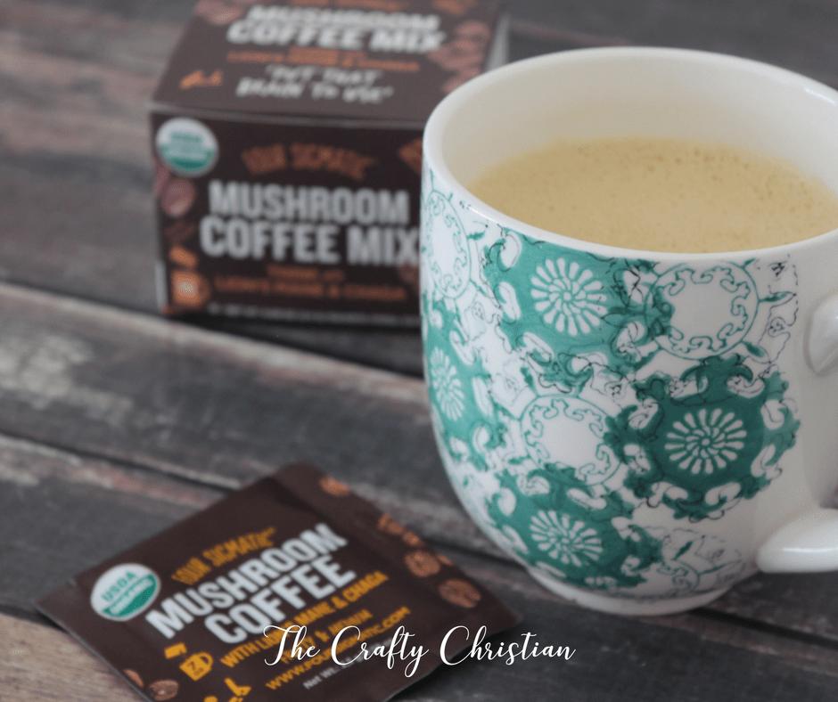 How I'm Beating Brain Fog with… Mushroom Coffee?