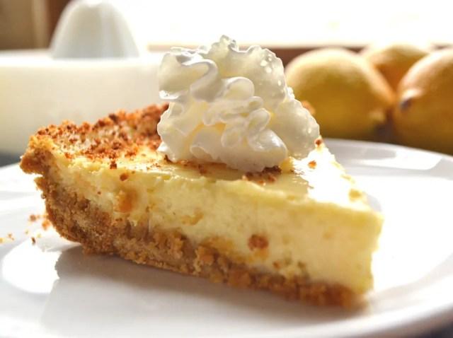 Easy Creamy Sweet Tart Lemon Pie