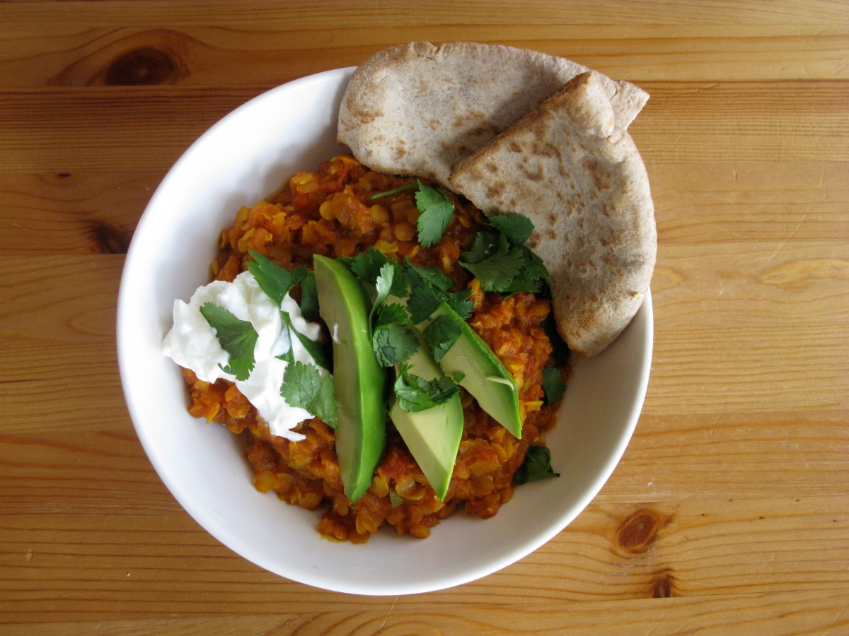 'Easy Does It, Wednesday' Red Lentils with Yogurt