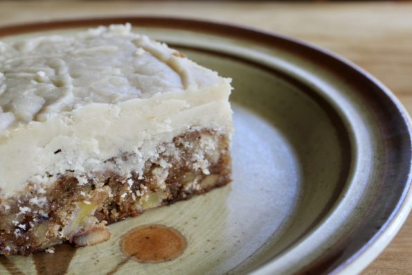 Call Me Old Fashioned Apple Cake With Brown Sugar Frosting The