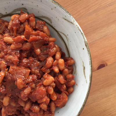'Cut the Waste' Apple Baked Beans