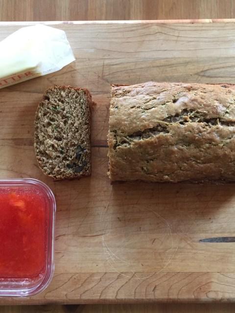 CCN Buttermilk Zucchini Bread