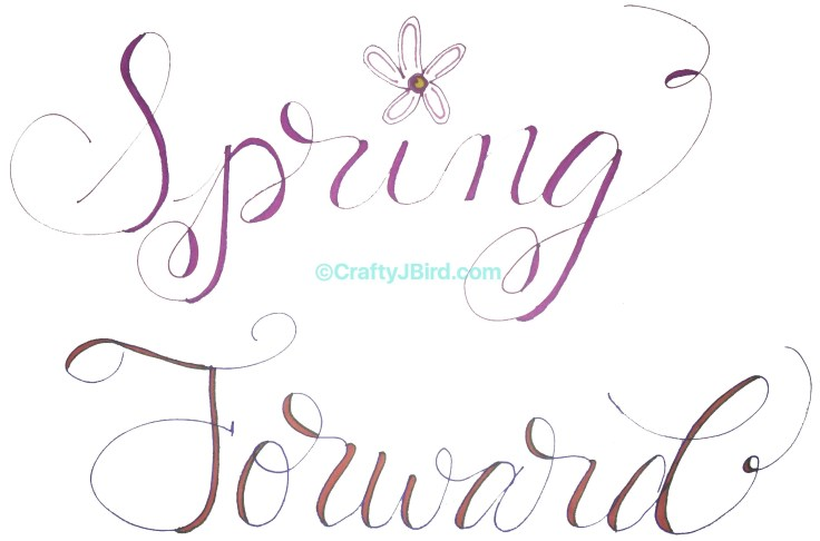 Welcome Spring 2018 -- Visit CraftyJBird.com for more info...