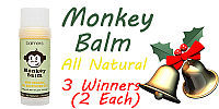 Monkey Balm #review #giveaway #TakingTimeforMommyHolidayGiftGuide
