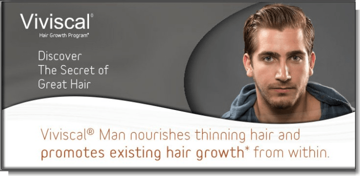 Viviscal Man - Men Hair Growth Vitamin Supplements