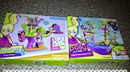 Even LOWER prices on Polly Pocket sets! #sponsored