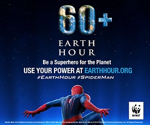 Spider-Man Swings Into Action to Celebrate Chicago as Earth Hour's U.S. Capital
