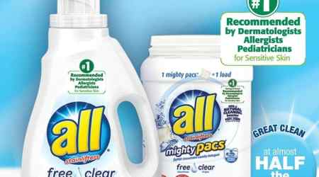 Win a year supply of all free clear during the #WithMyBlanket Sweepstakes #ad