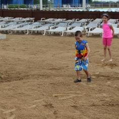 The whole sand box area is huge