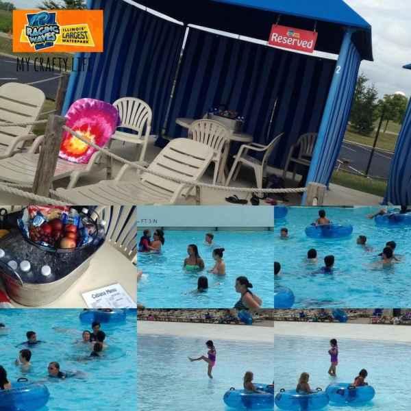 #EndlessSummer wave pool - cabana mcl