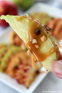 Caramel Apple Nachos by Cincy Shopper