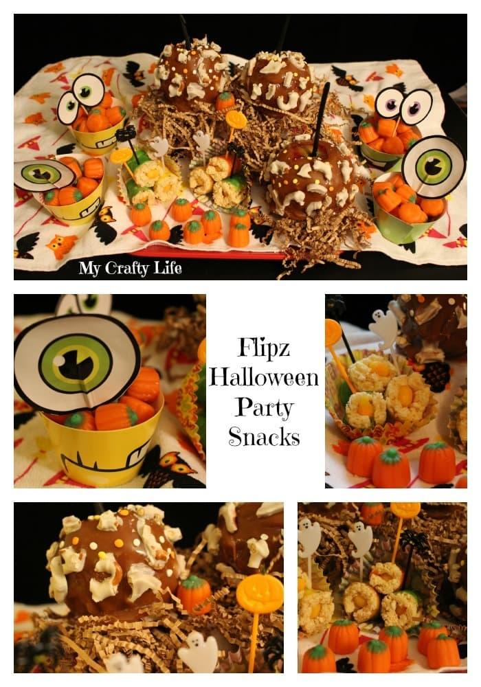 Flipz Halloween Party Snacks - My Crafty Life