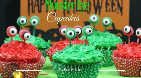 Monster Eye Cupcakes #Recipe