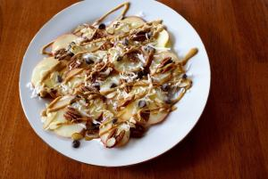apple nachos by the Thinking Closet