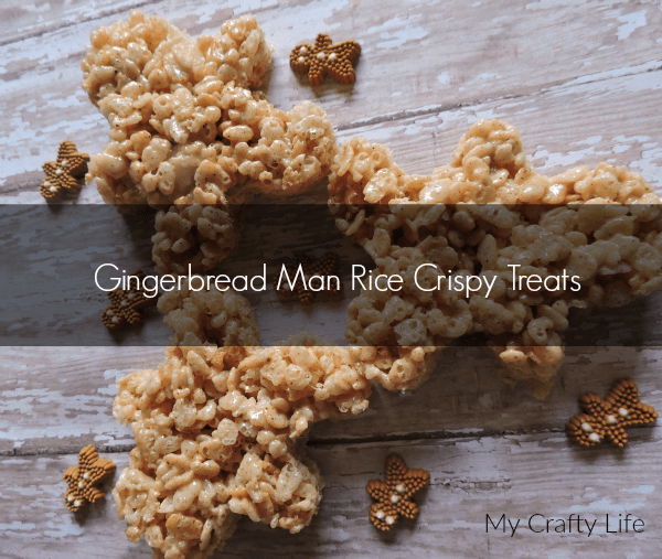 Gingerbread Man Rice Crispy Treats - 7