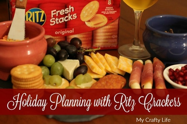 Holiday Planning Made Easy With Ritz Crackers. Being prepared will make your life easier and your family's stomachs happy!
