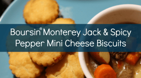 Monterey Jack and Spicy Pepper Mini Biscuits #LoveBoursin @walmart #ad