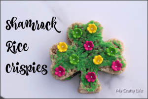 Shamrock Rice Crispies – Fun With Food