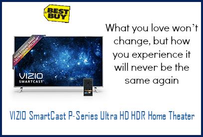 All new VIZIO SmartCast™ P-Series™ Ultra HD HDR Home Theater™
