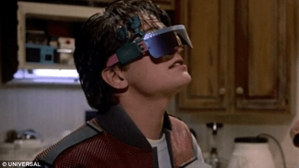 Marty McFly - Samsung Gear VR Bundle - the future is here