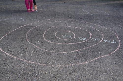driveway-dart-game-with-sidewalk-chalk-and-sponge