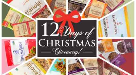 Erin Baker's 12 Days of Christmas! ends 12/23/2016