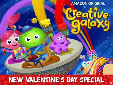 Creative Galaxy debuts Heart Day! Don't miss the debut of Heart Day & check out the awesome craft Lu made with her Arty's Tool Belt.