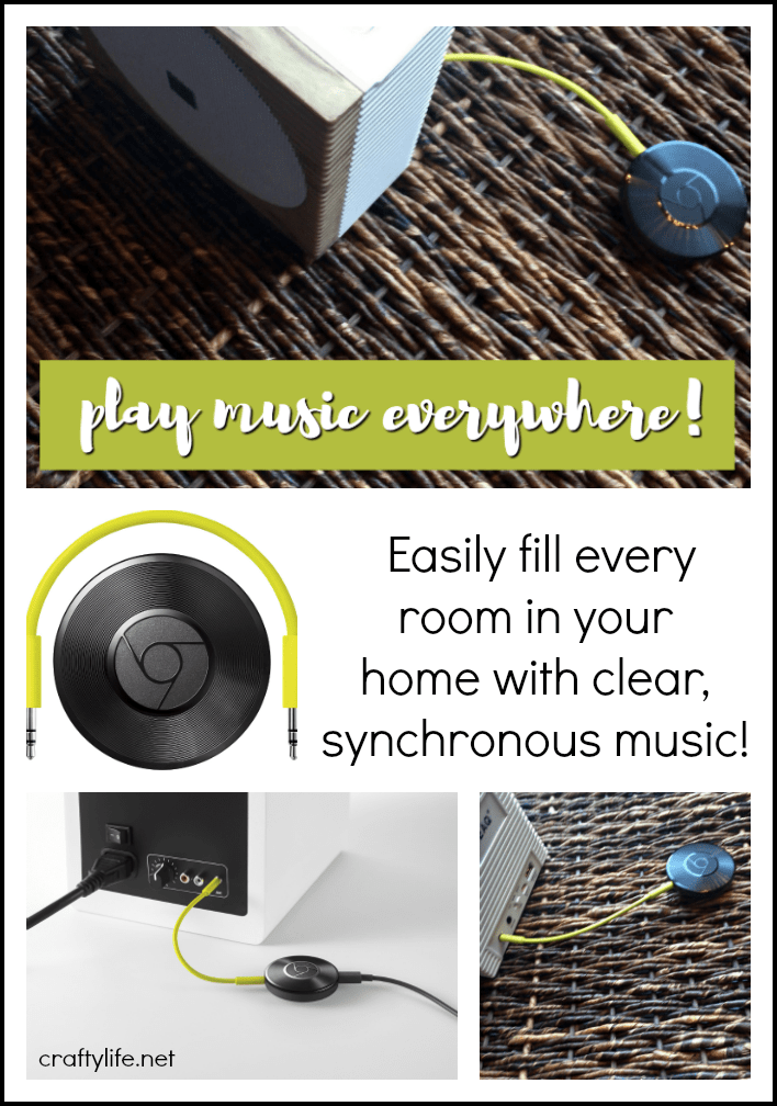 Listen to your favorite tunes on your speaker with crystal clear sound, powered by the cloud. Easily fill every room in your home with synchronous music!