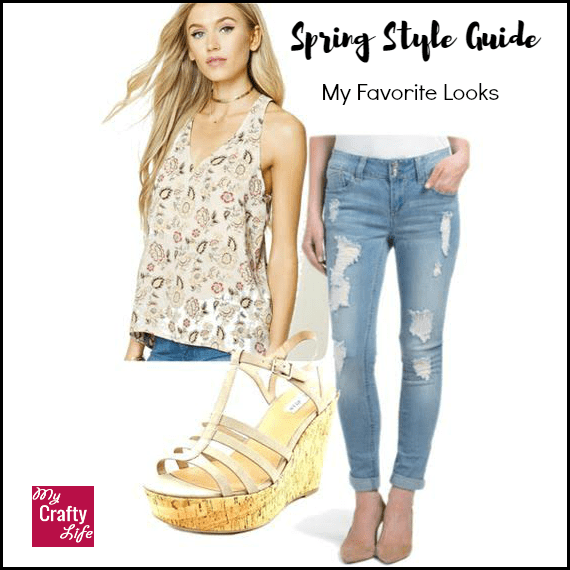 Fun, casual style for spring!