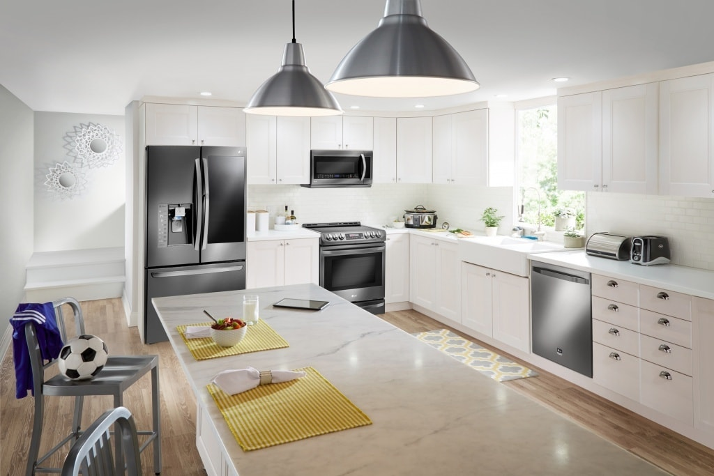 Remodel your kitchen in style. With gorgeous LG appliances and Best Buy's amazing prices you will save money plus your wallet!