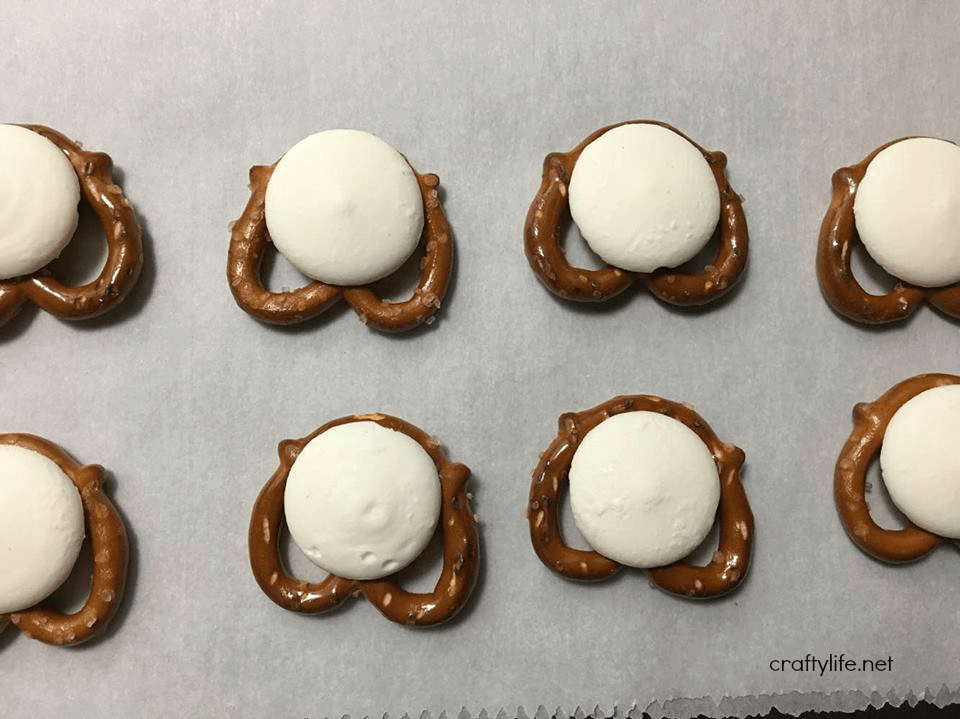 Bunny Butt Pretzels Recipe