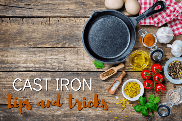 Make flavorful cast iron skillet cooking recipes in your fantastic, versatile cast iron cookware. Once you try it, you will never go back!