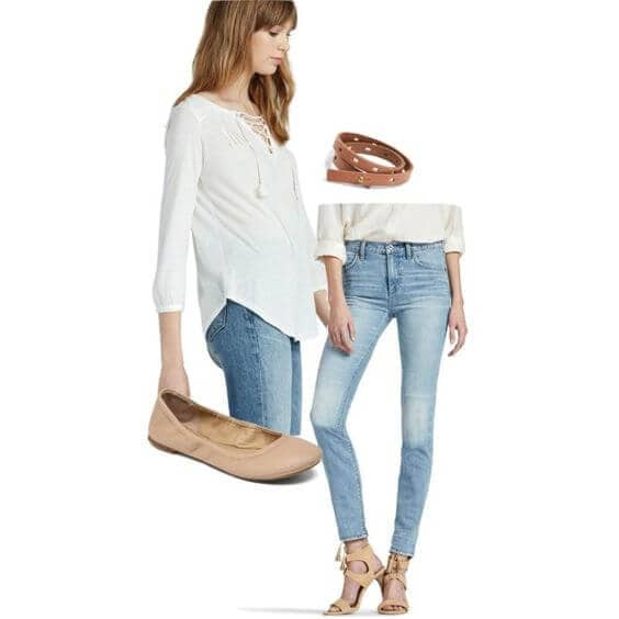 Create Gorgeous, Flattering, Vintage Inspired Looks To Pair With Your High Rise Jeans