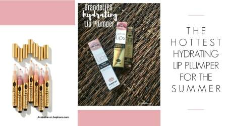 The Hottest Hydrating Lip Plumper For The Summer