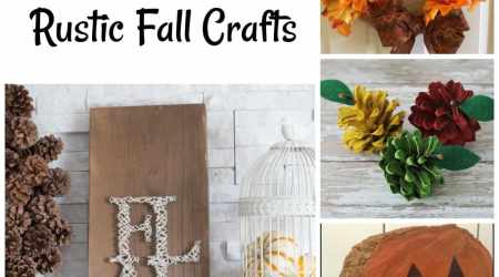 20 DIY Rustic Fall Crafts