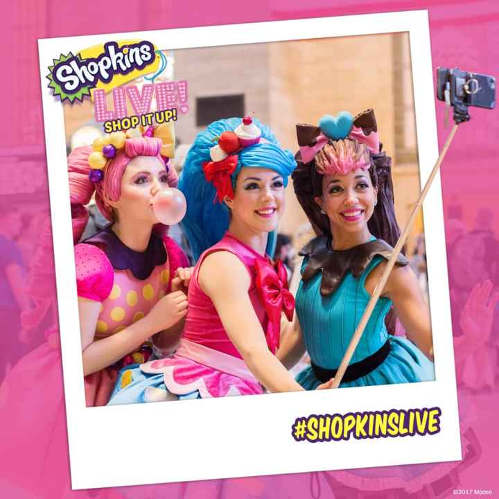 Shopkins Live! is finally here! The #1 kids toy in North America is live and on stage in Shopkins Live! Shop It Up! in Rosemont, IL on December 9th, 2017