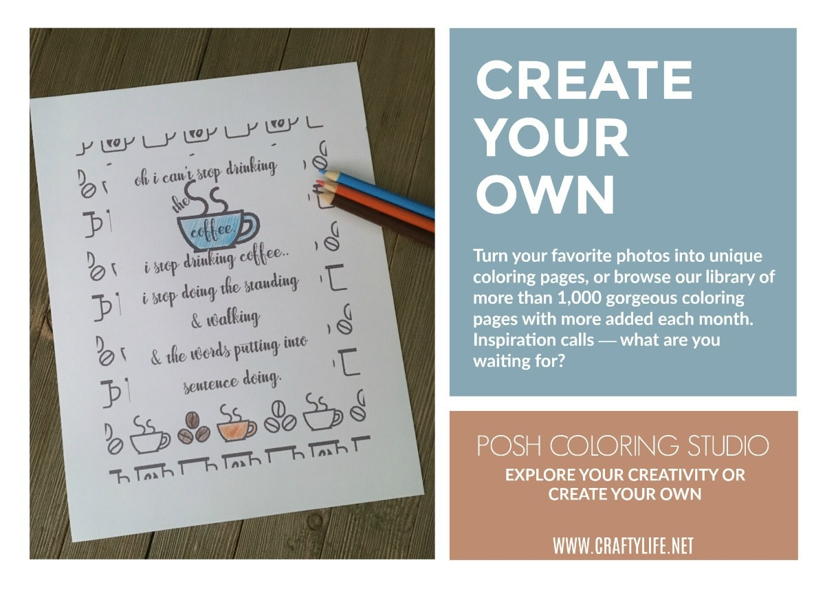 How To Use Posh Coloring Studio To Create Your Own Coloring Pages!
