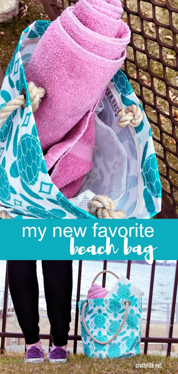 Sea Bags are unique, eco-friendly, sustainable and the best-made beach bag I have ever owned! Made in Maine USA, each bag is crafted and handmade out of recycled sailcloth. 