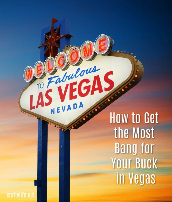 Vegas is known to be crazy and unpredictable. However, that doesn't mean that being reckless is necessarily a good idea. Do your research on some of the best deals out there and your wallet will be grateful to you.