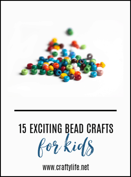 Bead crafts for kids - 15 bead projects