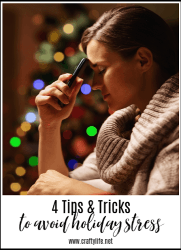 Avoid Holiday Stress - 4 tips & tricks