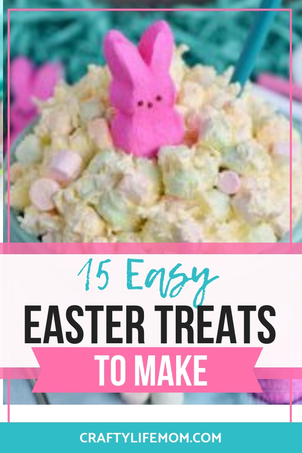 Make Your Easter Celebrations fun and easy with this full list of Easy Easter Treats to make. This tutorial gives you recipes and simple steps to make all of your favorites plus some new fun ideas for Easter.