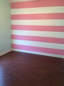 completed stripes
